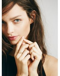Free People | Metallic Ono Jewelry Womens Levitation Ring | Lyst