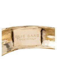 Elie Saab - Metallic Curved Cuff - Lyst