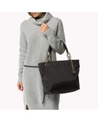 Tommy Hilfiger | Black Signature Tote | Lyst