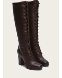 Frye - Brown Parker Tall Lace Up - Lyst