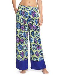 Bollydoll - Blue 'moon' Pajama Pants - Lyst