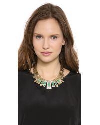 Aurelie Bidermann - Metallic Marcello Necklace Gold - Lyst
