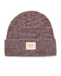 Farah - Red Vintage Beanie In Ribbed Knit for Men - Lyst