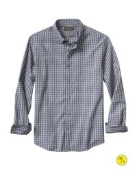 Banana Republic - Factory Soft-wash Blue Check Shirt for Men - Lyst
