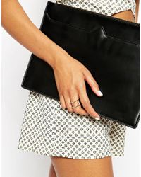 ASOS - Metallic Geo Ring Pack - Lyst