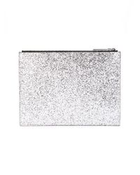 KENZO | Metallic Glittered Clutch | Lyst
