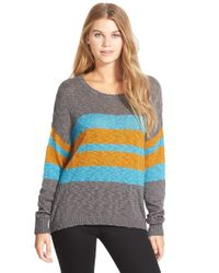 Volcom | Gray 'cause N Effect' Sweater | Lyst