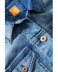 BOSS Orange - Multicolor 'opatta-w'   Printed Bomber Jacket - Lyst
