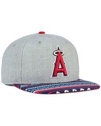 21ab8c8b44623 Lyst - KTZ Los Angeles Angels Of Anaheim Neon Mashup 9fifty Snapback ...