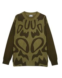 Orwell + Austen Cashmere - Lily Boyfriend Sweater Green - Lyst