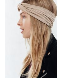 Urban Outfitters | Natural Crisscross Bella Headwrap | Lyst