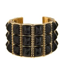 House of Harlow 1960 | Black Sugarloaf Bars Bracelet | Lyst