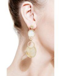 Bochic | Fancy Yellow Sapphire and Diamond Double Drop Earrings | Lyst