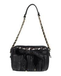 Blumarine - Black Shoulder Bag - Lyst