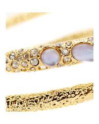 Alexis Bittar - Metallic Maldivian Spiral Crystalembellished Bracelet - Lyst