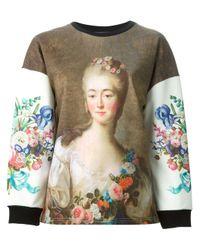 Emanuel Ungaro | Multicolor Madame Du Barry-Print Sweatshirt | Lyst
