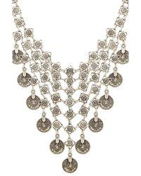 Natalie B. Jewelry - Metallic Queens Veil Necklace - Lyst