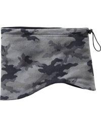 Uniqlo - Gray Heattech Fleece Neck Warmer for Men - Lyst
