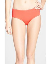 Chantelle | Orange '100% Invisibles' Hipster Briefs | Lyst