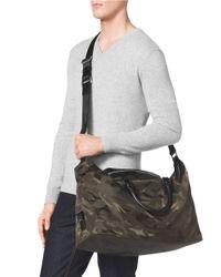 Michael Kors | Green Camo Print Convertible Duffel Bag for Men | Lyst