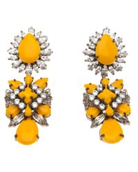 Shourouk | Orange Blondie Earrings | Lyst