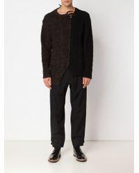 Yohji Yamamoto - Black Tapered Trousers for Men - Lyst
