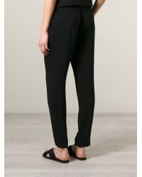 P.A.R.O.S.H. - Black 'pody' Trousers - Lyst