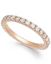 Arabella | Metallic Swarovski Zirconia Infinity Band In 14k Rose Gold | Lyst