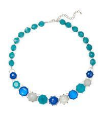 Catherine Stein | Blue Beaded Collar Necklace | Lyst