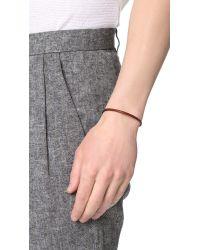 Caputo & Co. - Brown Easy Leather Bracelet for Men - Lyst