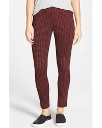Sanctuary | Brown Check Plaid Leggings | Lyst