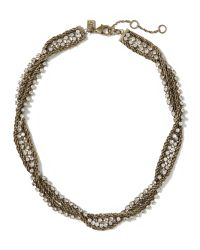 Banana Republic | Metallic Double-chain Necklace | Lyst