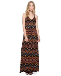 Ella Moss | Black Souk Maxi Dress | Lyst