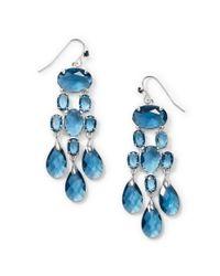 Ralph Lauren | Blue Chandelier Earrings | Lyst