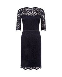 Hobbs | Blue Albany Dress | Lyst