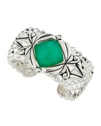 Stephen Webster - Green Spiked Crystal Haze Bracelet - Lyst