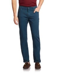 Ferragamo | Blue Straight-leg Jeans for Men | Lyst