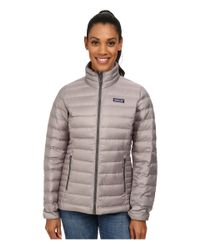 Patagonia | Gray Down Sweater Jacket | Lyst
