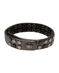 HTC - Gray Bracelet for Men - Lyst