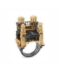 Aenea | Metallic Paris City Ring | Lyst