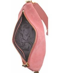Elizabeth and James - Pink Scott Small Moon Saddle Bag - Lyst
