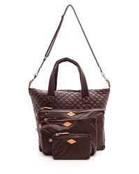 MZ Wallace | Brown Large Sutton Bag - Espresso | Lyst