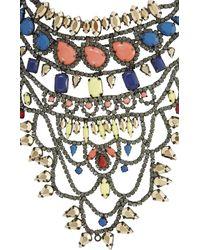 BCBGMAXAZRIA - Multicolor Boho Tribal Statement Necklace - Lyst