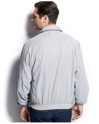 Weatherproof - Gray Lightweight Bomber Jacket for Men - Lyst