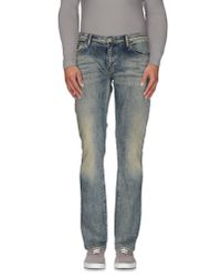 Armani Jeans | Blue Denim Trousers for Men | Lyst