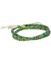 Chan Luu | 20 1'2 Cotton Cord Neon Green Mix Adjustable Bracelet | Lyst