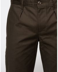 Obey   Natural Latenight Sateen Pant for Men   Lyst