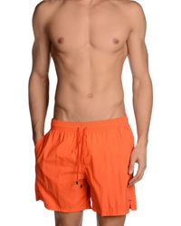 Roda | Orange Swimming Trunk for Men | Lyst