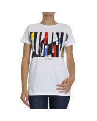 Iceberg | White T-shirt | Lyst