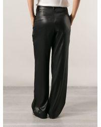 Brunello Cucinelli - Black High Shine Trousers - Lyst